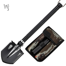 Outdoor Engineer Shovel Multi-function Military Folding Small Portable Fishing Garden Tools