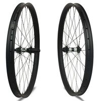 One Pair 29'' Carbon Mountain Bike Wheelset DT swiss 350 Hub Center Lock Top Quality MTB Wheels Tubeless Super Light Weight Bike