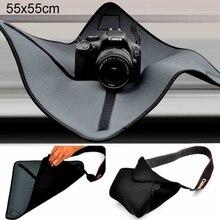 Водонепроницаемая ткань PULUZ для камеры, защитное покрытие, одеяло для объективов Canon, Nikon, Sony, DSLR, ткань для вспышки, защитная крышка