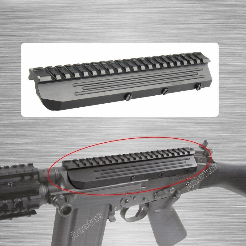 Tacticle Sa58 FN FAL Scope Mount Picatinny Rail Aluminum Low Profile for FN FAL Rifle Series Mnt 981 M8593 Full Metal CNC Made