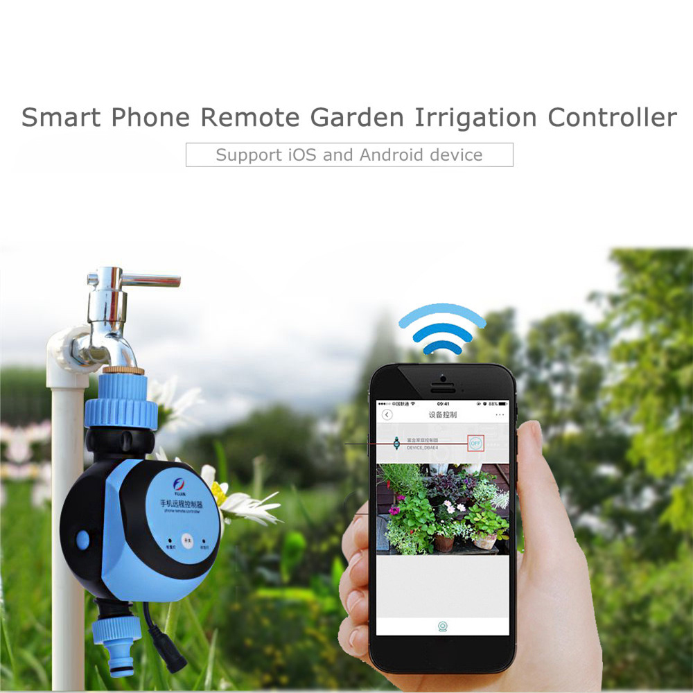 Automatic Intelligent Electronic Water Timer Smart Phone