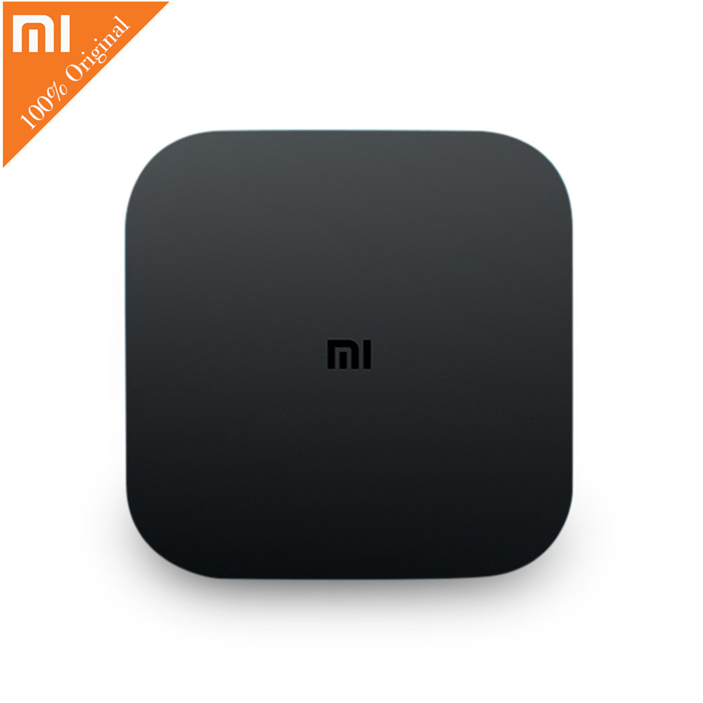 Original Xiaomi Mi4C Patchwall Smart TV Box Amlogic S905L 1GB 8GB 4K HDR 2.4G Wi-Fi Mi BOX BT4.1 EDR H.265 HD Smart Media Player original xiaomi mi4c patchwall tv box 1gb 8gb amlogic s905l 2 4g wi fi bluetooth set top box supports 4k hd smart media player