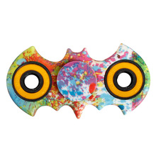 Multi Color Batman Hand Spinner Fidget Stress Cube