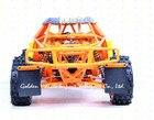 Baja1/5 rc car 305FT prototype car steel rollcage nylon plate orange blue + radio control GT3B gas remote control car 1:5 rc car