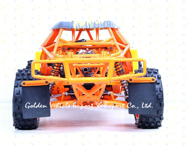 Baja1/5 rc car 305FT prototype car steel rollcage nylon plate orange blue + radio control GT3B gas remote control car 1:5 rc car купить