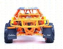 Baja1/5 RC автомобилей 305ft Прототип автомобиля стали rollcage Нейлон Плиты orange синий + Радио управления GT3B газ дистанционного управления автомобиль 1:5 RC автомобиль