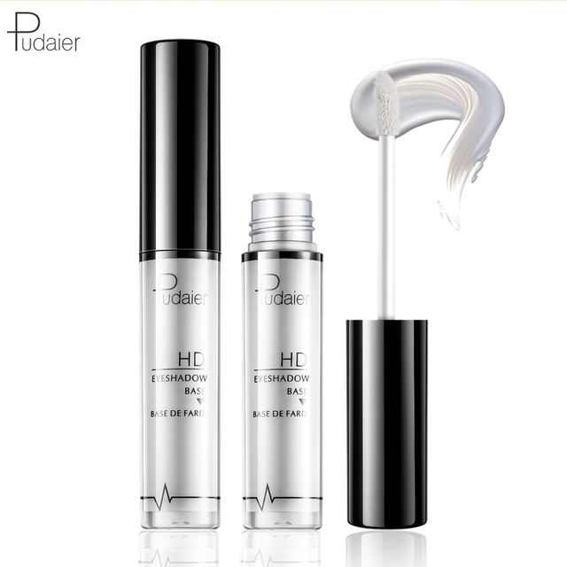 Pudaier 2 Colors EyeShadow Primer Eye Makeup Face Base Cream Natural 24 Hours Lasting-makeup Eye Shadow Pallete Color Cosmetic 4