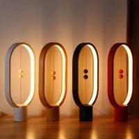 Allocacoc Хэн балансная лампа светодиодный ночник с питанием от USB Домашний Декор спальня офис настольный ночник новый свет подарок для детей