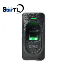 FR1200 IP65 Waterproof Fingerprint Reader For F18 Access Control System RS485 Fingerprint And 13.56mhz IC card reader