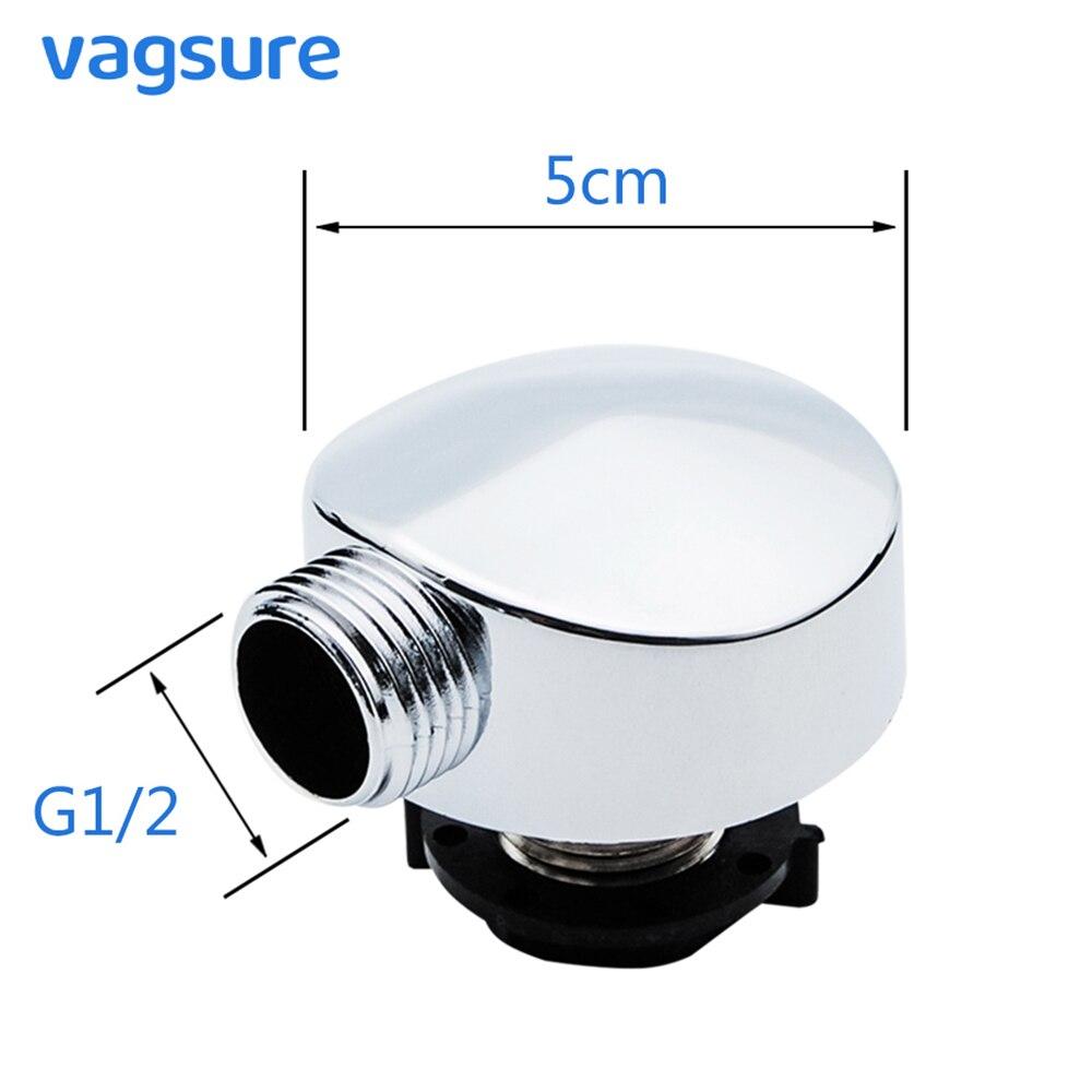 Vagsure Chromed Plastic Shower Connector Sauna Spa For Bathtub Shower Cabin Room Accessories Parts