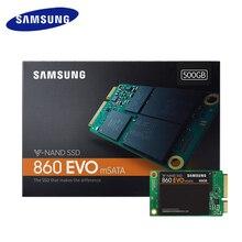 Samsung mSATA 860 EVO внутренний SSD 250 GB 500 GB 1 ТБ твердотельный накопитель HD Жесткий Высокое Скорость для ноутбука кабельный адаптор