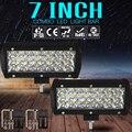 7-дюймовый 72 Вт 3 светодиодные полосы света рабочий ремонт внедорожных транспортных средств лампы крыши полосы света