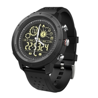 Novo relógio inteligente masculino grande dial ponteiro físico mais informações do telefone inteligente ui alerta relógio à prova d50 água 50 metros