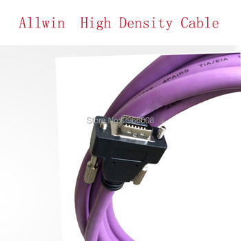 2pcs printer spare parts  4 Meters High Density Cable For allwin E160 / E180 Printers