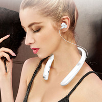 Bluetooth Earphone with DVR Camera Camcorder with External Speakers Headset Sport Neckband Outdoor Stereo Earbuds for Phone PC