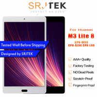 SRJTEK For Huawei MediaPad M3 Lite 8 0 CPN-W09 CPN-AL00 CPN-L09 LCD Display  Matrix Touch Screen Digitizer Sensor Glass Assembly