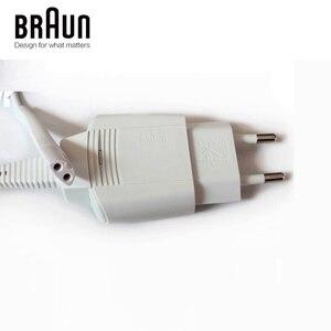 Image 2 - 12 V 0.4A EU US blanc adaptateur secteur chargeur cordon pour Braun rasoir véritable véritable origine IPX4 étanche tout neuf blanc