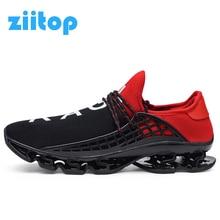 a3fdcc7c Zapatillas deportivas de deporte para hombre 2018 zapatillas de deporte  transpirables con cordones talla 36-