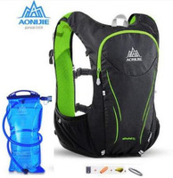 AONIJIE Upgraded 5L Outdoors Lightweight Men Women Marathon Running Cycle Race Hydration Vest Hydration Pack Backpack
