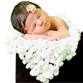 Good Quality Wool Fiber Crochet Knit Photo Blanket Soft Infant Photography Pro Costume
