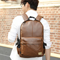Hot 2015 New black women backpack, High quality leather men's backpacks Fashion school bags factory wholesale travel bag