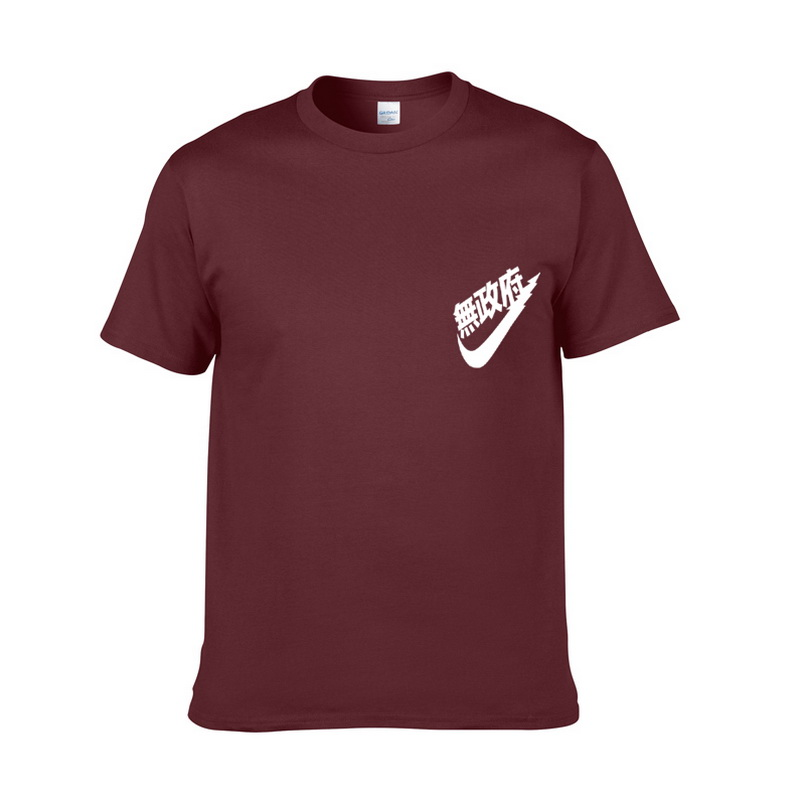 2018 European Size Printed Cotton tshirt Mens Summer Skate T-Shirt Boys Hip-Hop t-shirts Men Free shipping