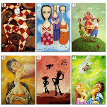 Peter ren DIY Diamond Painting Cross stitch Cartoon villain figure 5D Round mosaic full icon Embroidery Crafts