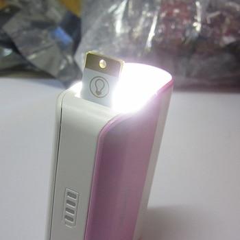 Night Lamp 2PCS Mini Pocket Card USB Power LED Keychain Night Light 0.2W Light for Power Bank Computer Laptop