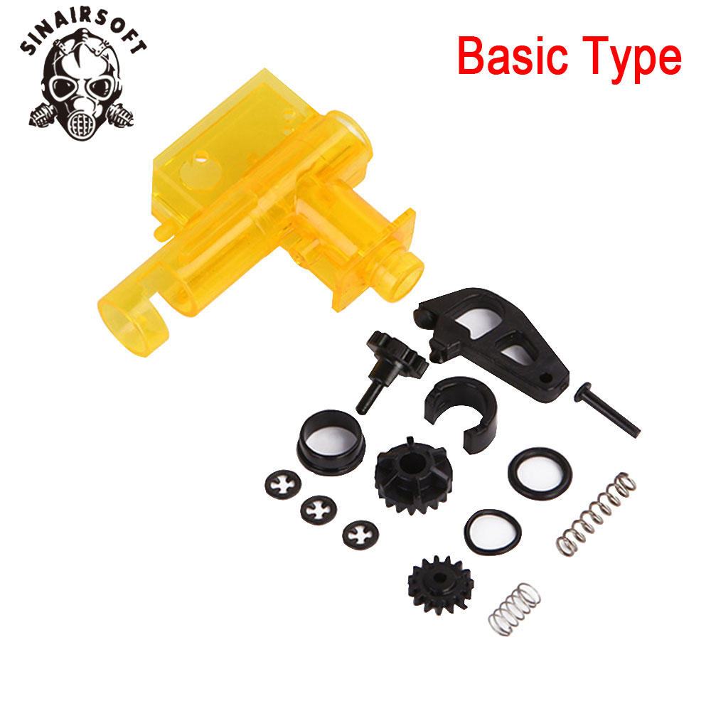 SINAIRSOFT NEW M4 HOP-UP Set Upgraded/ Basic Version Lightweight Hop Up AEG Airsoft For M4 Hunting Accessories