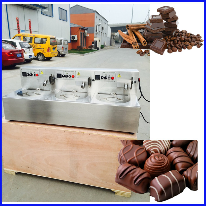 304 stainless stee l30kg tempering maker chocolate melting