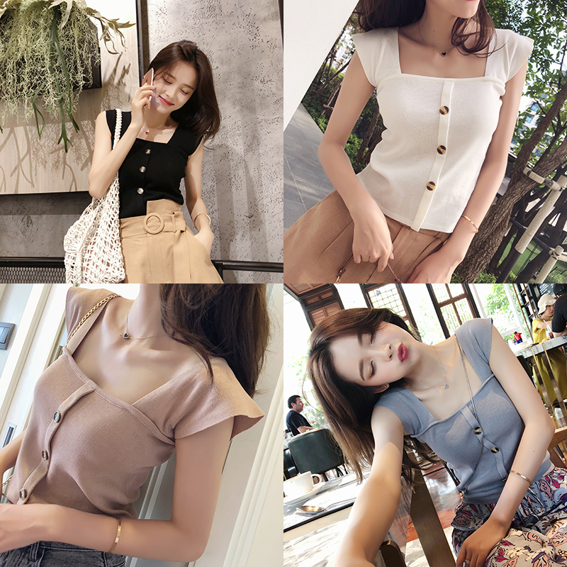 Mishow Fashion 2019 Women Lace Vest   Top   Sleeveless Casual   Tank   Blouse Summer   Tops   MX18B5313
