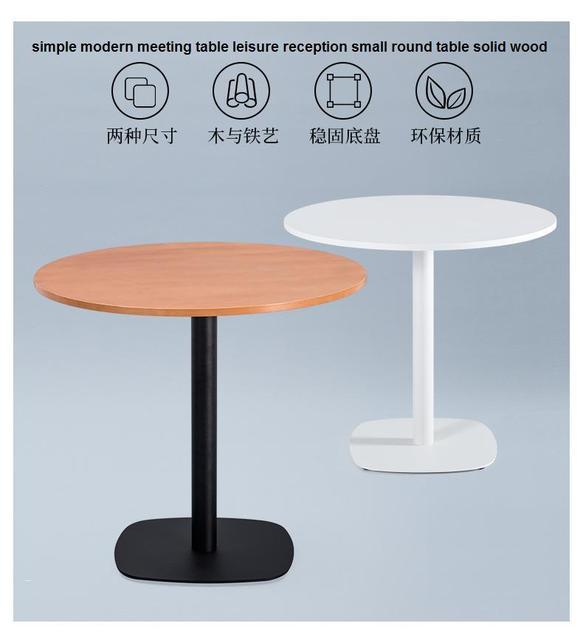 Simple Moderne Table De Réunion Daccueil De Loisirs Petite Table