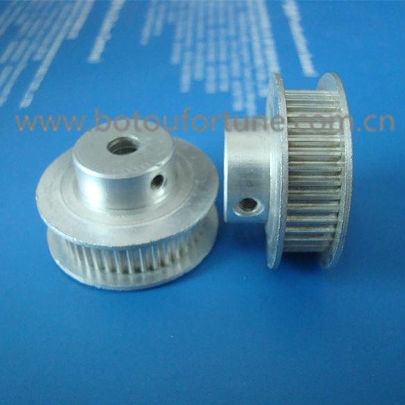 Aucune dent Aluminum Timing mannequin Poulie 5 mm avec roulement-Ceinture 6 mm