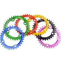 A1 Chainwheel 104BCD 36ครั้งเบาอัลลอยด์จักรยานจักรยานChainringวงกลมรอบChainwheelแสงที่มีสีสันขายส่งและขายปลี