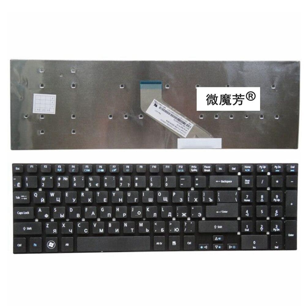 Teclado russa para Acer Aspire e1-510 E1-510P E1-522 E1-530 E1-530G E1-532 E1-532G E1-572 E1-572G E1-731 E1-731G E1-771 RU