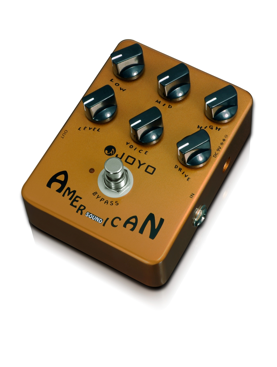 JOYO American Sound Guitar Effect Pedal Reproduces The Sound&Mooer Performs Great From Clean Driven JF-14