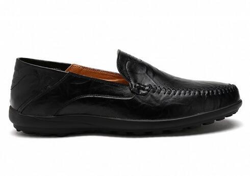 Marca As Couro Moda Homens Genuíno Pic as De Sapatos Em Barco Masculinos Pic Masculina Mocassins Deslizamento 2018men Da Casuais wqnXt8xRZ