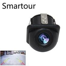 Smartour автомобиля Универсальная камера заднего вида 170 градусов широкий угол Малый соломенная шляпа заднего вида изображение Водонепроницаемая камера ночного видения