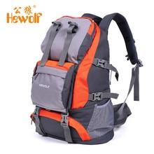 Hewolf 32L Outdoor Backpack Waterproof Camping Mountaineering Hiking Sport Bag Climbing Rucksack Huge Capacity for Male Female