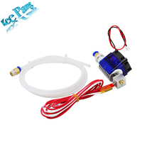 3D Printer J Head Hotend With Single Cooling Fan For 1 75mm 3 0mm Direct Filament