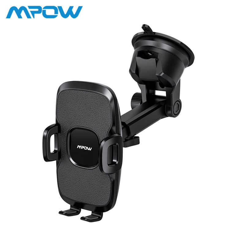 Mpow CA104 Dashboard Car Phone Holder 2 Suction Levels