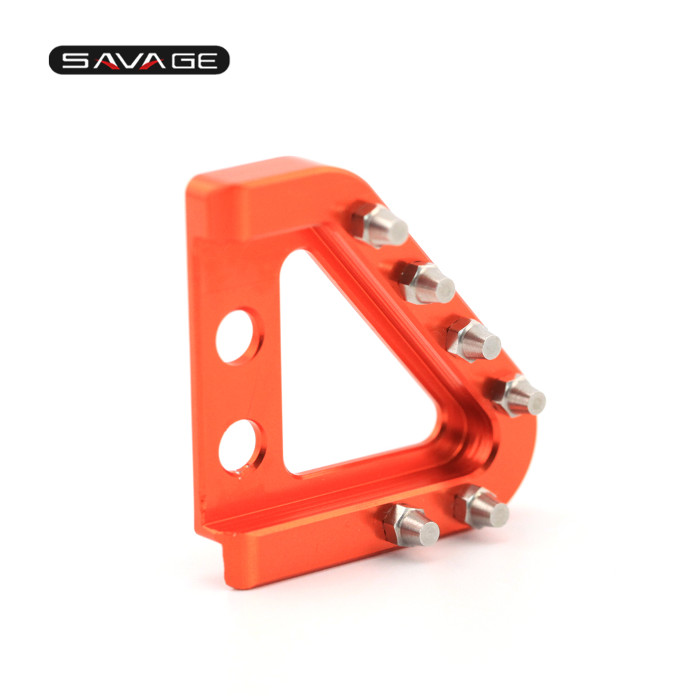 S Brake Pedal & Shifting Lever Toe Peg Step Plate (15)