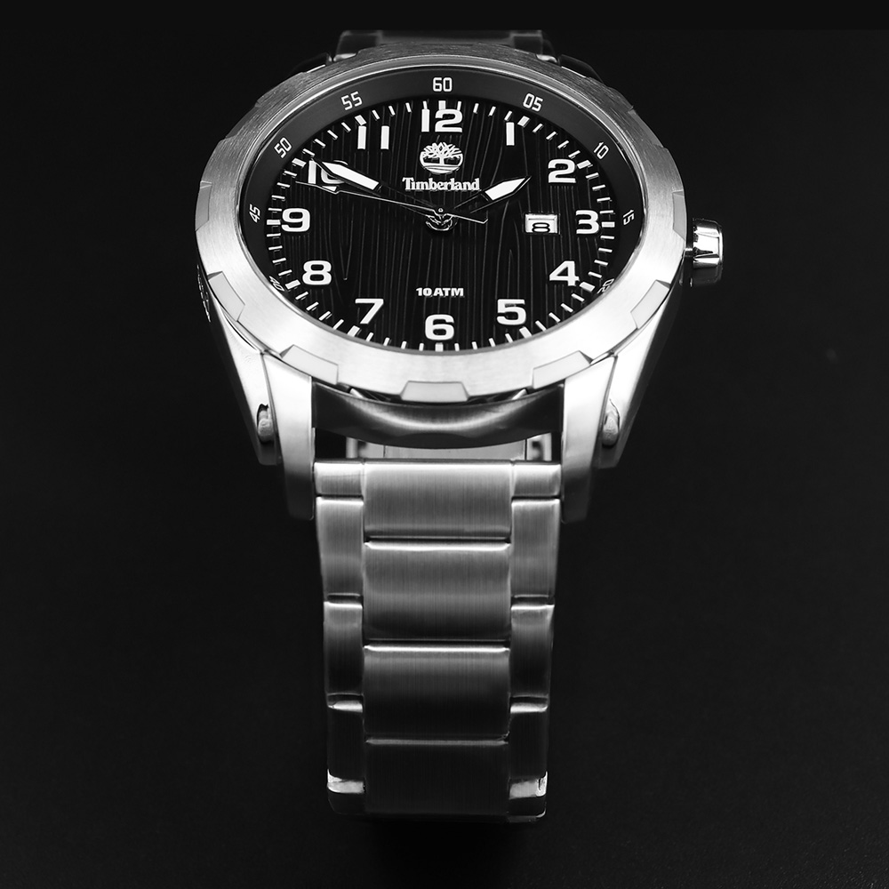 Timberland Original Mens Watches Stainless Steel Quartz Calendar Water Resistant to 330Feet Men Watch T13330 все цены