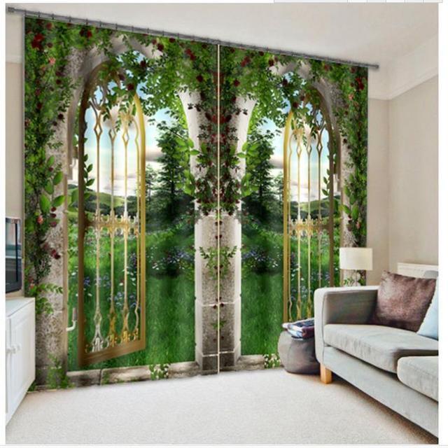 Cortina Para Sala De Estar Moderna ~ Cortinas personalizadas cortinas moderna sala de estar Home Decor Sala