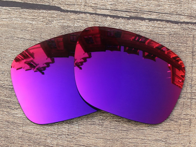 Purple Red Mirror Polarized Replacement Lenses For Holbrook Sunglasses Frame 100% UVA & UVB Protection