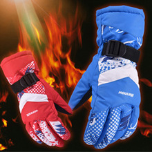 Anti-skidding Ski Gloves Snowboard Gloves Winter Skiing Riding Climbing Waterproof Snow Gloves