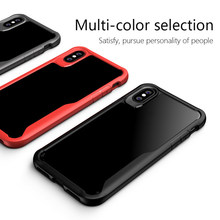 1Pcs 100% new Luxury Mobile Phone Cases for iPhoneX/XS/XR/5S/SE Transparent silicone Drop Protection Case()