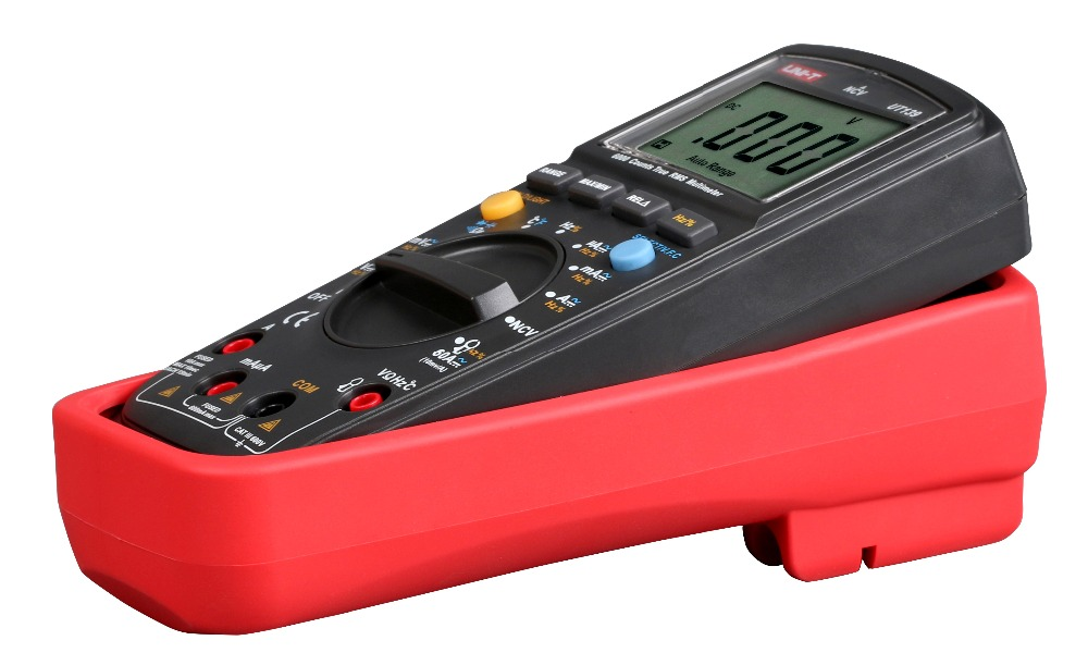 UNI T UT139B True RMS Handheld Palm Size LCD Digital Auto Range Multimeter AC DC Voltage Tester Meter New in Multimeters from Tools