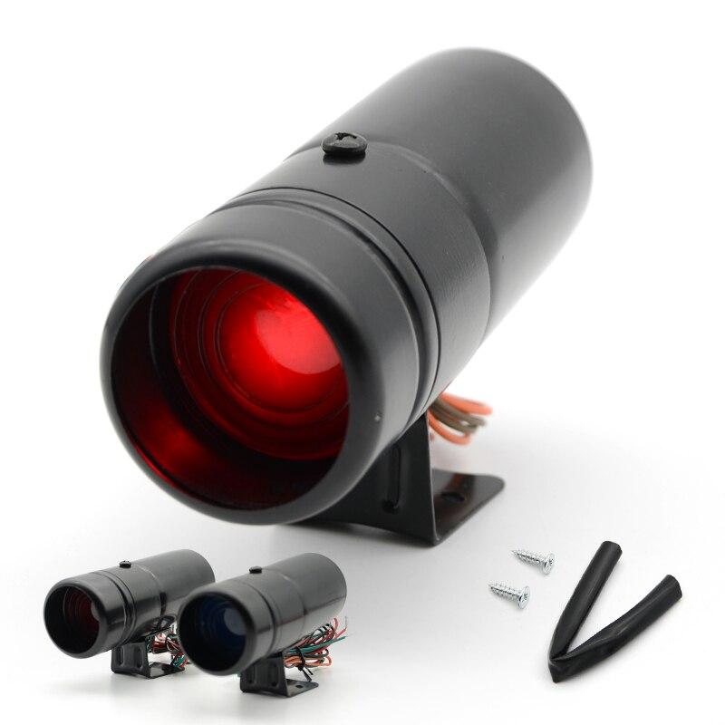 Rosso e Blu Led Regolabile Contagiri Rpm Tacho Calibro Pro Shift Luce 1000-11000 Universale