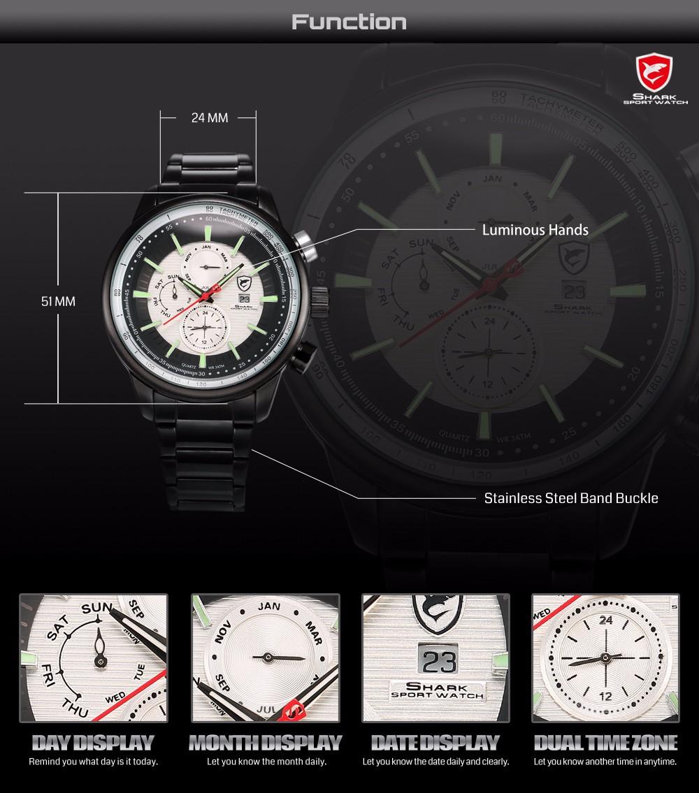 HTB1c901GVXXXXbLaXXXq6xXFXXXp - Gummy Shark Sport Watch - White /SH371